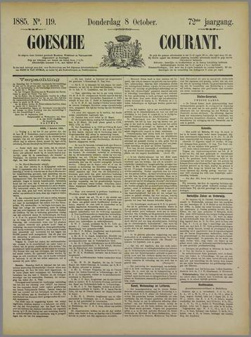 Goessche Courant 1885-10-08