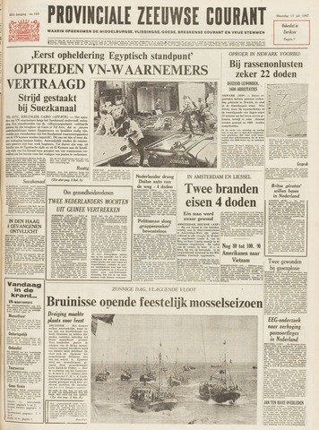 Provinciale Zeeuwse Courant 1967-07-17