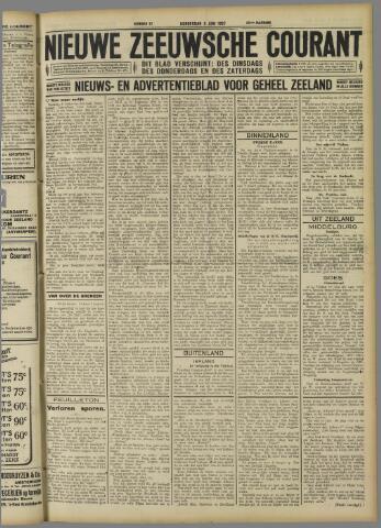 Nieuwe Zeeuwsche Courant 1927-06-09