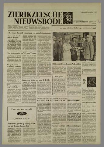 Zierikzeesche Nieuwsbode 1965-09-24