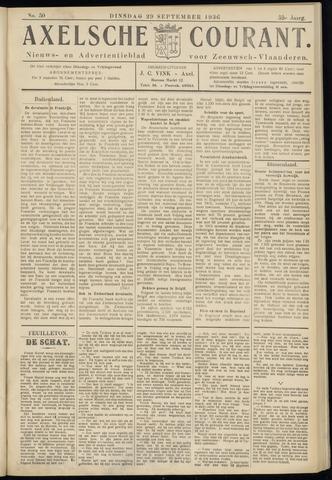 Axelsche Courant 1936-09-29