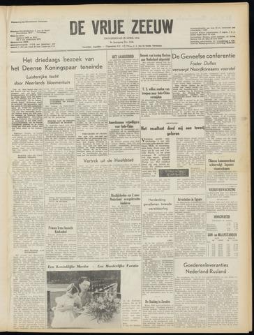 de Vrije Zeeuw 1954-04-29