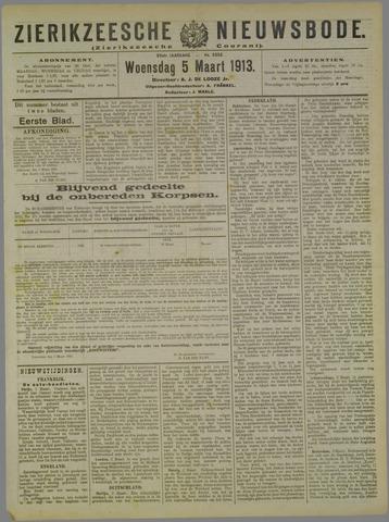 Zierikzeesche Nieuwsbode 1913-03-05