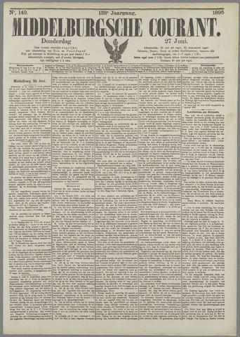 Middelburgsche Courant 1895-06-27