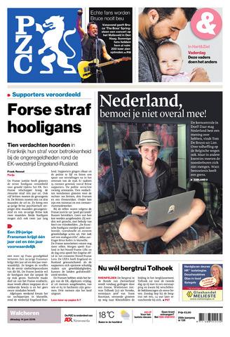 Provinciale Zeeuwse Courant 2016-06-14