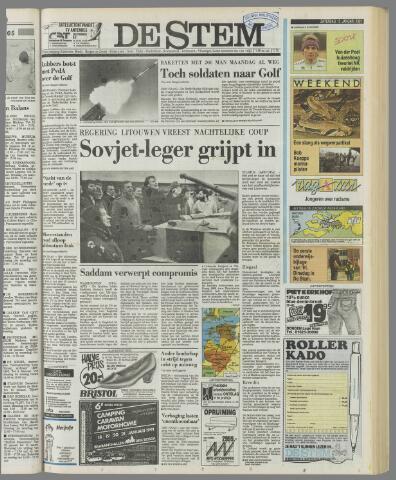 de Stem 1991-01-12