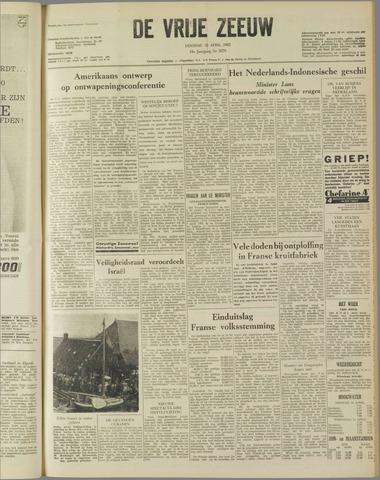 de Vrije Zeeuw 1962-04-10