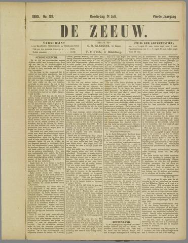 De Zeeuw. Christelijk-historisch nieuwsblad voor Zeeland 1890-07-31