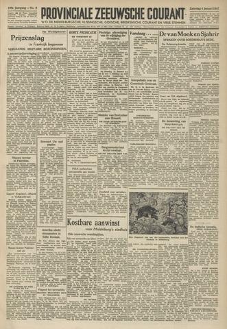 Provinciale Zeeuwse Courant 1947-01-04