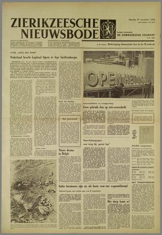 Zierikzeesche Nieuwsbode 1962-11-27