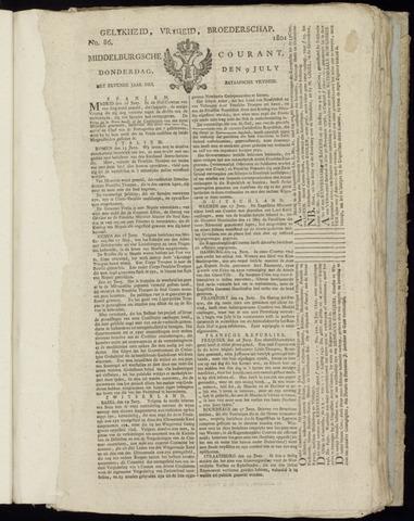 Middelburgsche Courant 1801-07-09