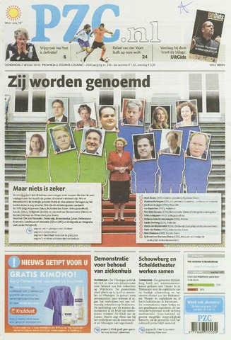 Provinciale Zeeuwse Courant 2010-10-07