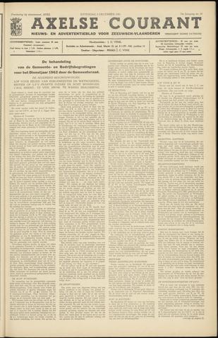 Axelsche Courant 1961-12-09