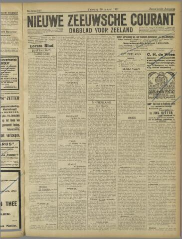 Nieuwe Zeeuwsche Courant 1921-01-29