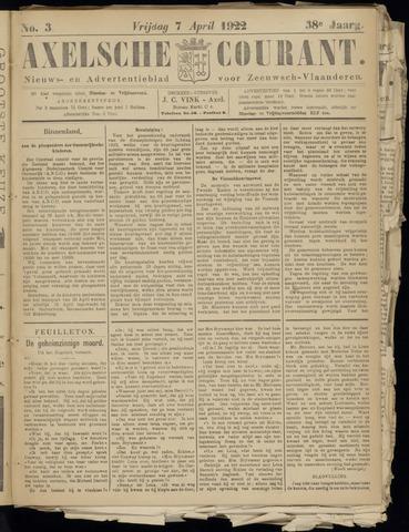 Axelsche Courant 1922-04-07