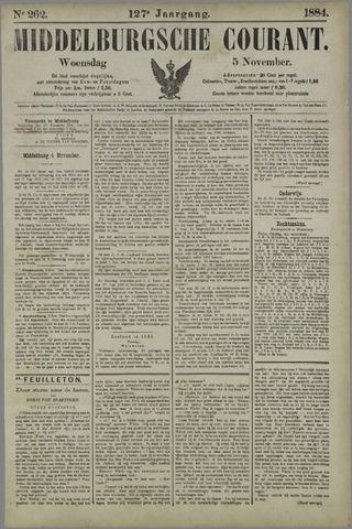 Middelburgsche Courant 1884-11-05