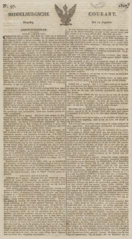 Middelburgsche Courant 1827-08-14