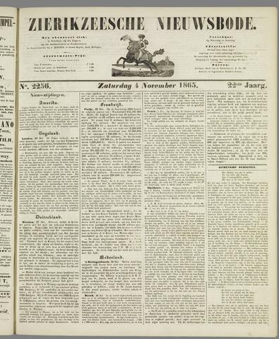 Zierikzeesche Nieuwsbode 1865-11-04