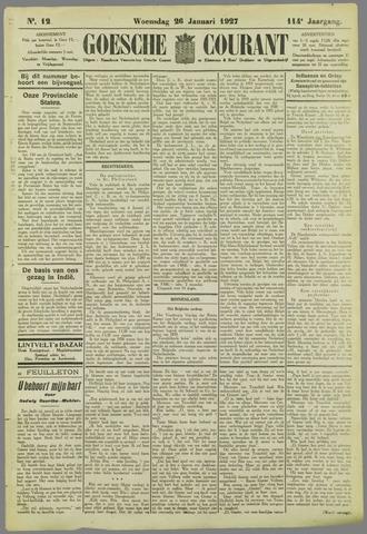 Goessche Courant 1927-01-26