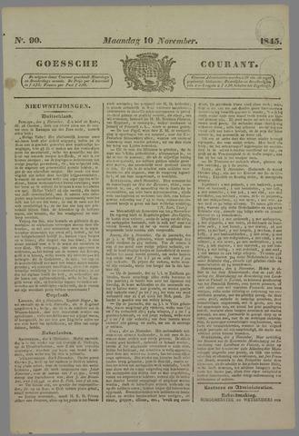 Goessche Courant 1845-11-10