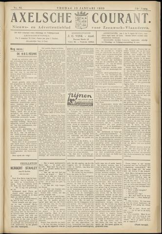 Axelsche Courant 1939-01-13
