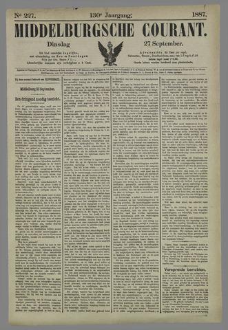 Middelburgsche Courant 1887-09-27