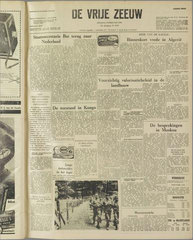 de Vrije Zeeuw 1962-02-06