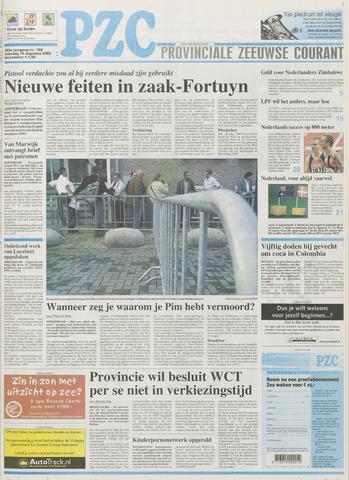 Provinciale Zeeuwse Courant 2002-08-10