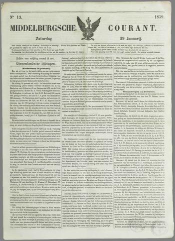 Middelburgsche Courant 1859-01-29