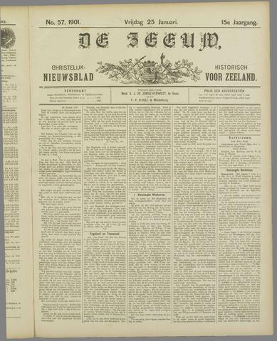 De Zeeuw. Christelijk-historisch nieuwsblad voor Zeeland 1901-01-25