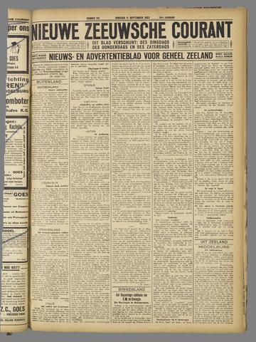 Nieuwe Zeeuwsche Courant 1923-09-11