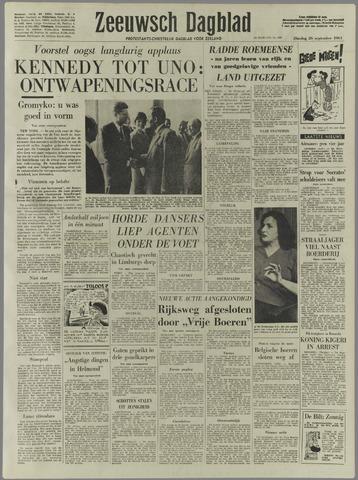 Zeeuwsch Dagblad 1961-09-26
