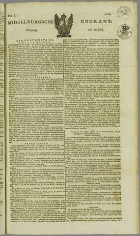 Middelburgsche Courant 1824-07-20