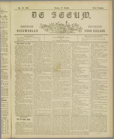 De Zeeuw. Christelijk-historisch nieuwsblad voor Zeeland 1895-12-31
