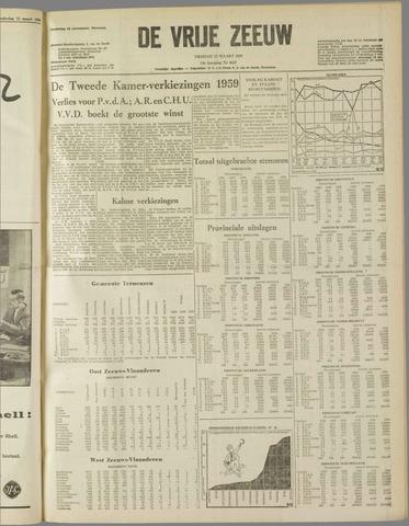 de Vrije Zeeuw 1959-03-13