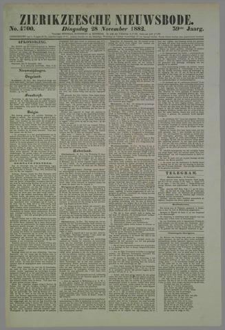 Zierikzeesche Nieuwsbode 1882-11-28