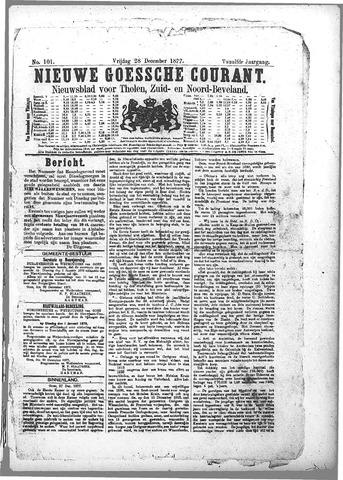 Nieuwe Goessche Courant 1877-12-28