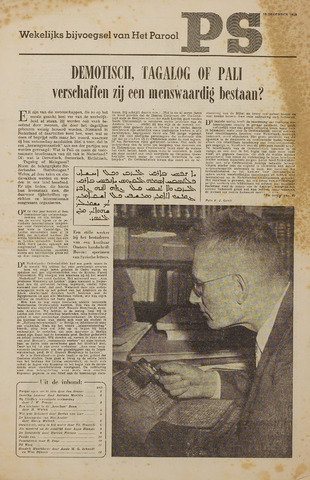 Watersnood documentatie 1953 - kranten 1953-12-19