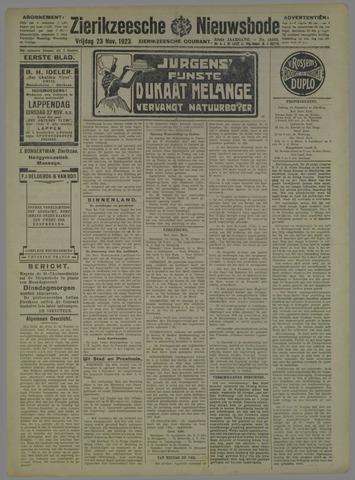 Zierikzeesche Nieuwsbode 1923-11-23