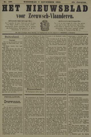 Nieuwsblad voor Zeeuwsch-Vlaanderen 1900-11-07