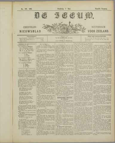 De Zeeuw. Christelijk-historisch nieuwsblad voor Zeeland 1898-06-02