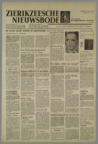 Zierikzeesche Nieuwsbode 1963-04-01