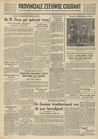 Provinciale Zeeuwse Courant 1952-07-23