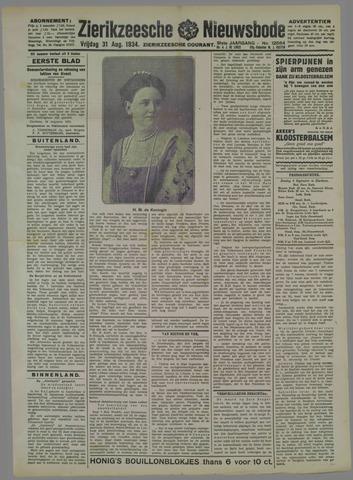 Zierikzeesche Nieuwsbode 1934-08-31
