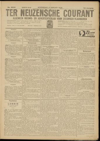 Ter Neuzensche Courant. Algemeen Nieuws- en Advertentieblad voor Zeeuwsch-Vlaanderen / Neuzensche Courant ... (idem) / (Algemeen) nieuws en advertentieblad voor Zeeuwsch-Vlaanderen 1939-01-04