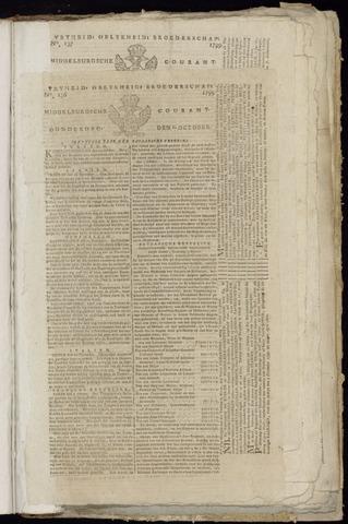 Middelburgsche Courant 1799-10-10