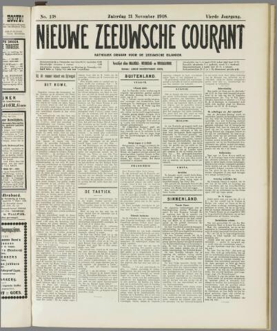 Nieuwe Zeeuwsche Courant 1908-11-21
