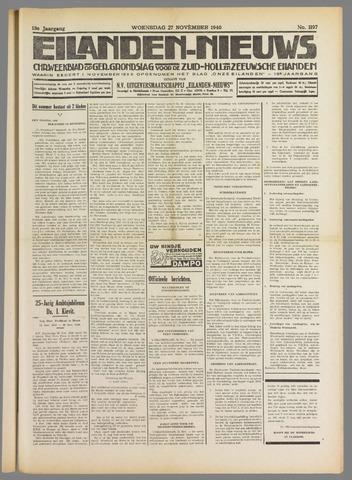 Eilanden-nieuws. Christelijk streekblad op gereformeerde grondslag 1940-11-27