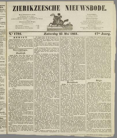 Zierikzeesche Nieuwsbode 1861-05-25