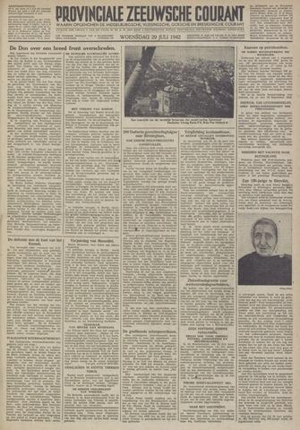 Provinciale Zeeuwse Courant 1942-07-29
